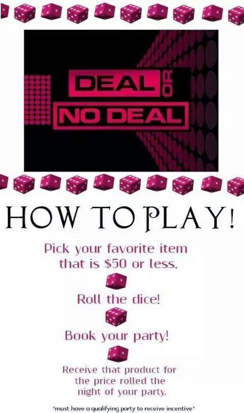 Deal Or No Deal Pure Romance Pinterest