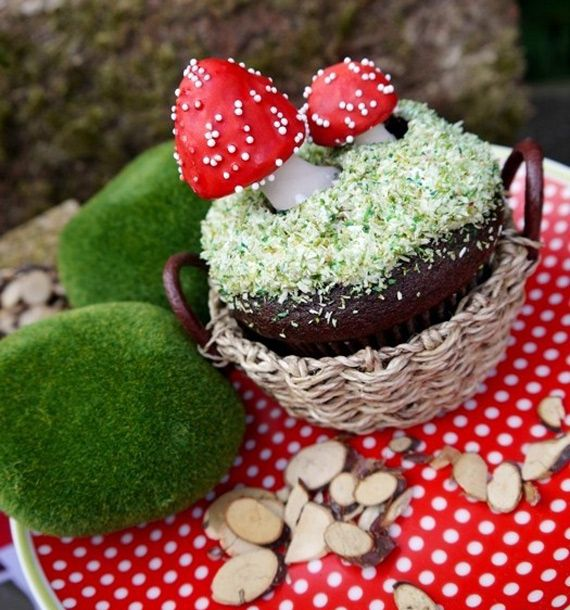 Chocolate Filled Toadstools by Andies Specialty Sweets, #woodland, #spring, #forest