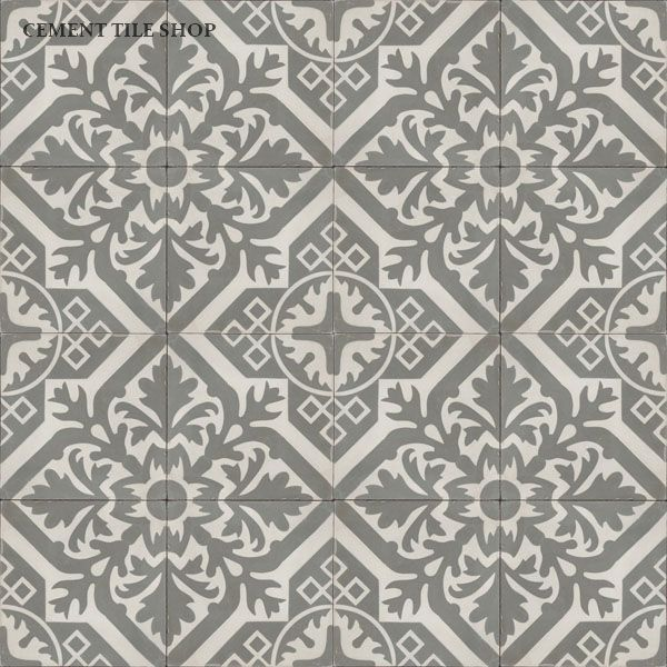Love this pattern - Cement Tile Shop - Encaustic Cement Tile Newcastle Antique