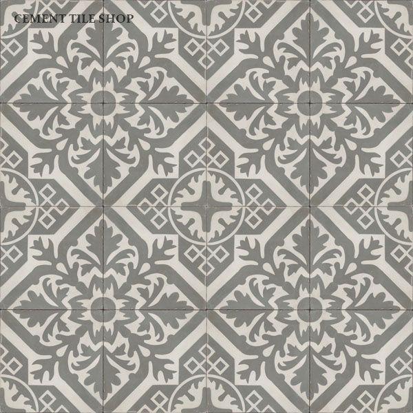Love this pattern - Cement Tile Shop - Encaustic Cement Tile Newcastle Antique