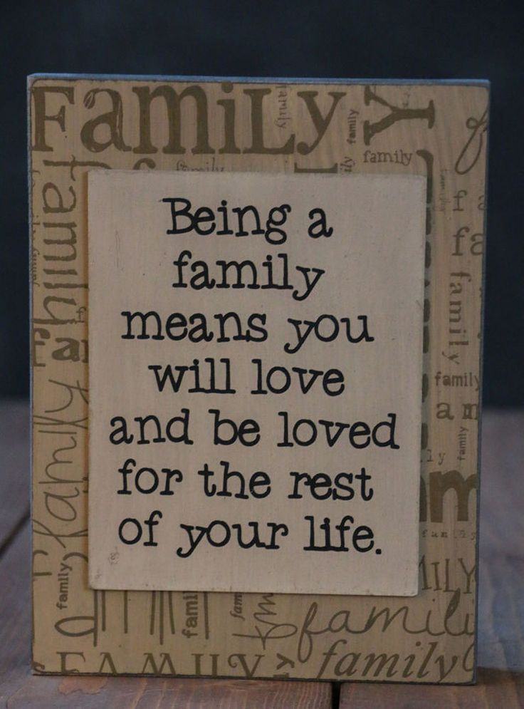 Being a Family Primitive Box Sign Hearthside Collection Vintage Wood Wall Decor #Hearthside #RusticPrimitive