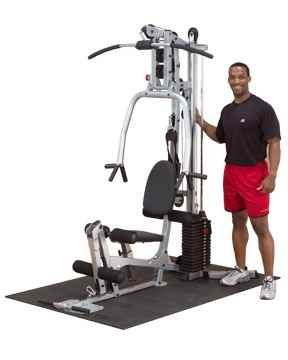 Image of Powerline Home Gym w 160-pound Weight Stack & Lat Bar