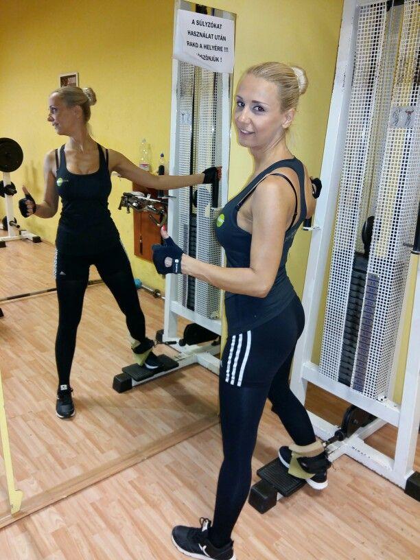 Táncoktatás előtt-után, egy kis edzés Nekem is😉