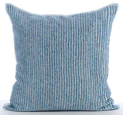 Handmade Light Blue Pillows Cover, Modern Throw Pillows C... https://www.amazon.com/dp/B016464C5W/ref=cm_sw_r_pi_dp_x_mZkcybB6R63EJ