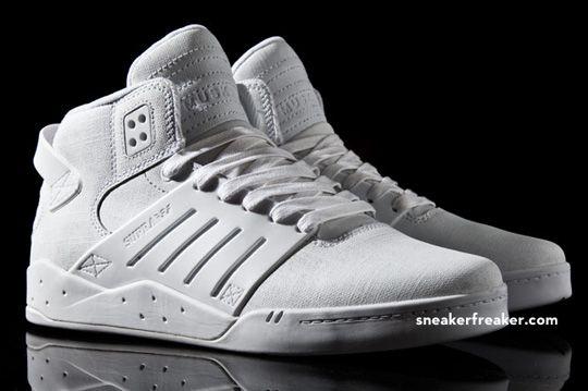 white on white, 90's inspired