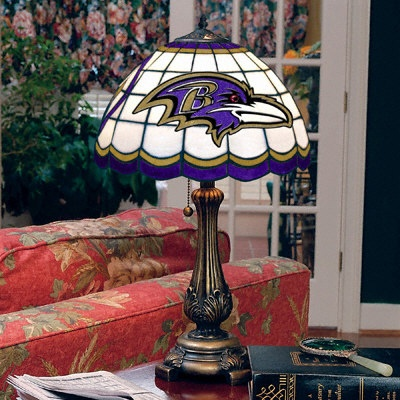 Baltimore Ravens Tiffany Table Lamp Ravens Pinterest