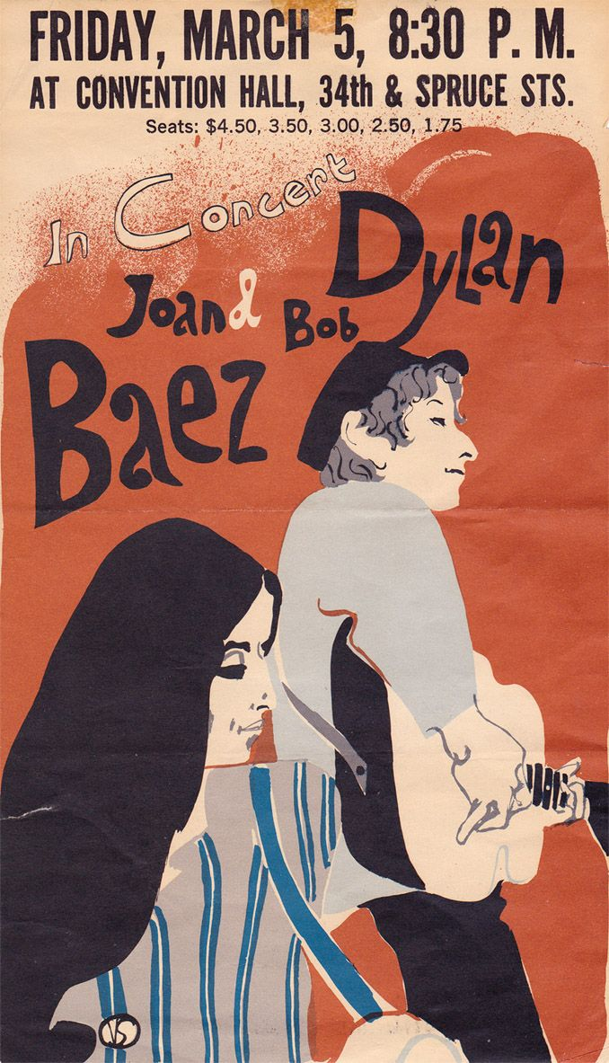 03 05 1965 - Bob Dylan Poster