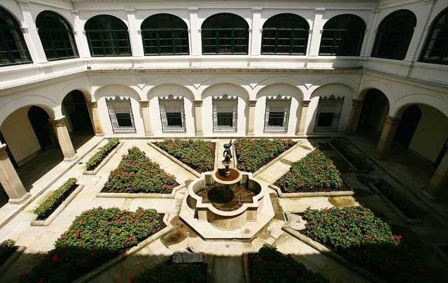 Palacio de San Carlos, Patio de la Cancillería