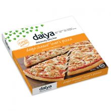 New Daiya Pizzas are the first brand of dairy-free, gluten-free, soy-free pizza! Available in four delicious flavors: Cheeze Lovers Margherita Fire-Roasted Vegetable Mushroom & Roasted Garlic