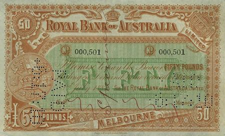 Museum of Australian Currency Notes: Gold and the Age of the Bank Note