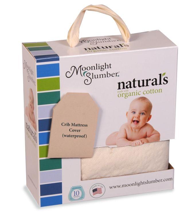 Moonlight Slumber Little Dreamer Organic Crib Mattress Cover With Images Organic Crib Mattress Crib Mattress Cover