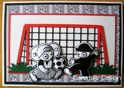 Leuntje en Merien voetbal