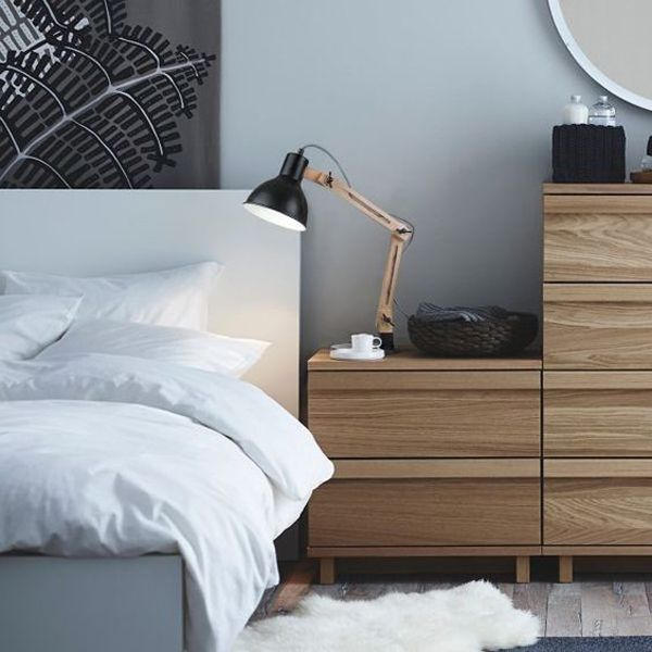 20 Modern Bedside Table Lamps Ideas  | @homeGVL Articles  |  Home  |  https://athomegvl.com/20-modern-bedside-table-lamps-ideas/