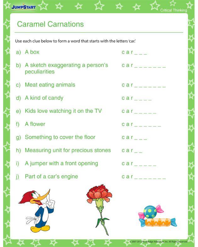 Pin by Samantha Clarke on *u2663* Smart Kids Printables ...