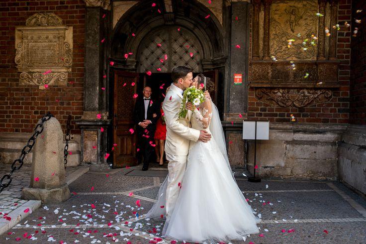 Izabela i Scott - ślub w Kościele Mariackim