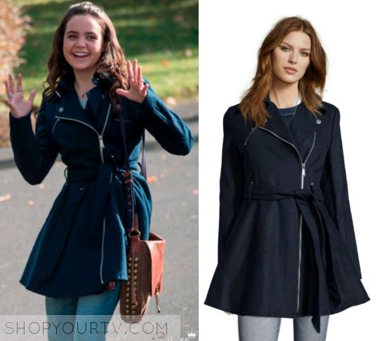 Good Witch: Season 2 Episode 2 Grace's Navy Belted Coat