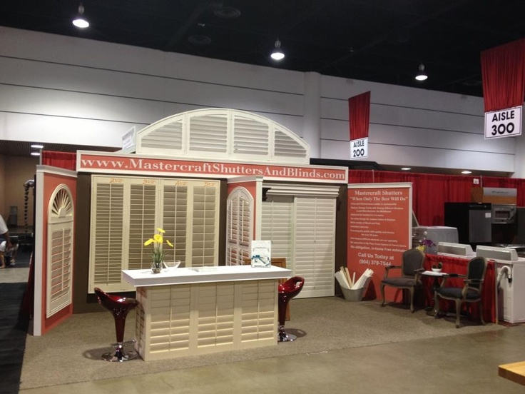Jacksonville Home And Patio Show. Wood Shutters. Plantation Shutters.  Jacksonville, Florida.