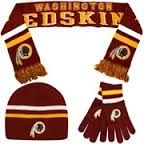 everyone needs a cute #Redskins hat, scarf and glove set!