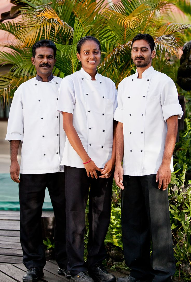 Our wonderful chefs. Thank you guys!