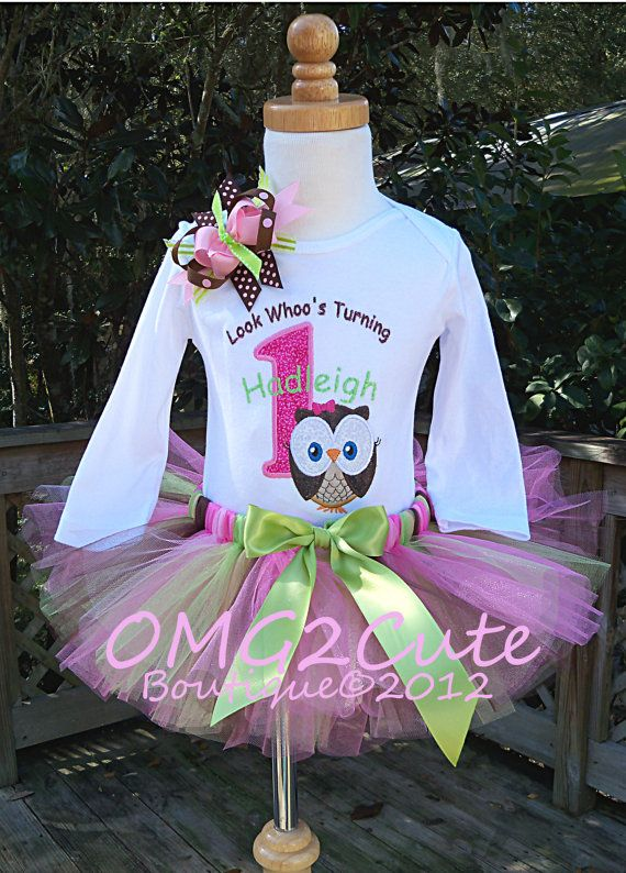 look whoo's turning 2 outfit | Look Whoo's Turning ONE Big Owl-1st birthday outfit includes Shirt ...