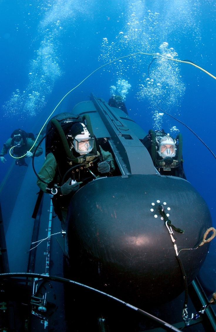 Members Of Seal Delivery Vehicle Team Two Sdvt 2 Prepare