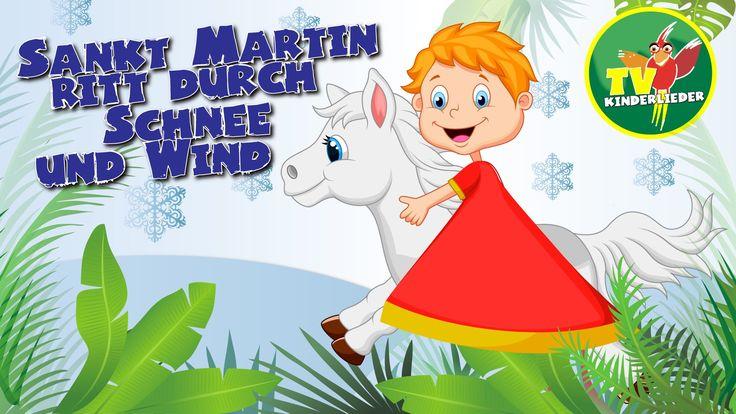Sankt Martin ritt durch Schnee und Wind - St. Martinslieder zum Mitsingen 1. Sankt Martin, Sankt Martin, Sankt Martin ritt durch Schnee und Wind, sein Ross, ...
