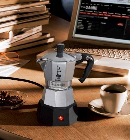 Bialetti Moka Eletrika, el café como a mi me gusta en cualquier parte.