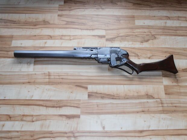 Nerf Sledgefire lever-action mod: Although it just covers the lever-action mod and in-line clip, I think this is just too cool not to post!