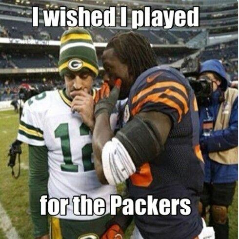 Pin by Jennifer Waschow on Jennifer | Packers football ... Brandon Marshall Bears Vs Packers