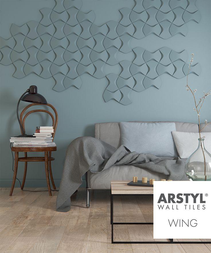 ARSTYL Wall Tiles WING livingroom 17 best