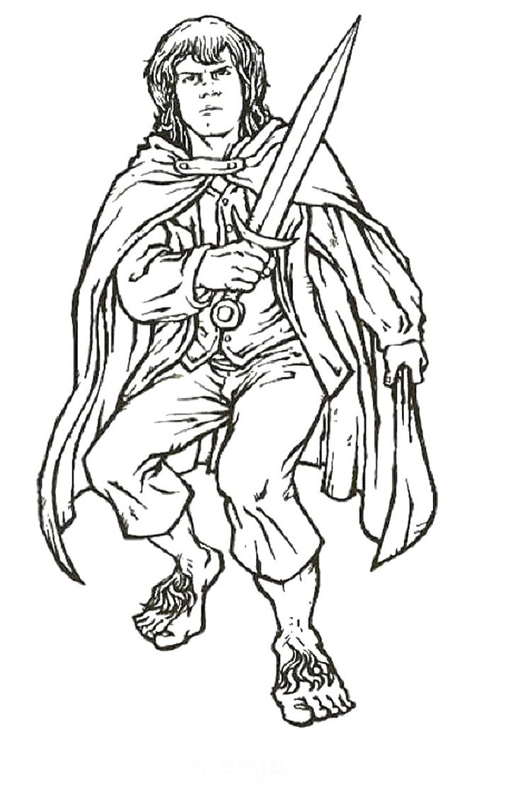 50 best lord of the rings colouring pages images on pinterest