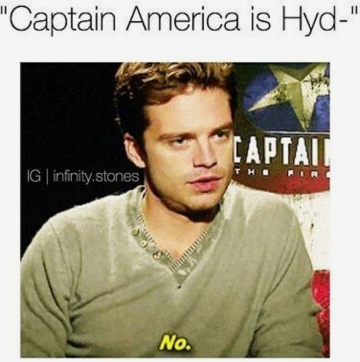 #SaynotoHYDRAcap It's ridiculous! Makes absolutely no sense!!! Why would they try to kill him in TFA if he was hydra all along??? And in TWS too??? I just don't get it! And also: he's worthy! He wouldn't be able to pick up Mjolnir if he was Hydra!