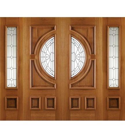 Empress Oak Doors Grand Entrance