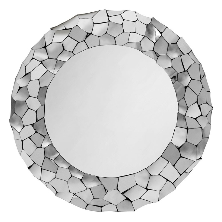 Metallica Round MirrorInteresting Things, Round Mirrors, Crafts Ideas, Decor Ideas, Bathroom, Metallica Round, Products, Happy House, Design