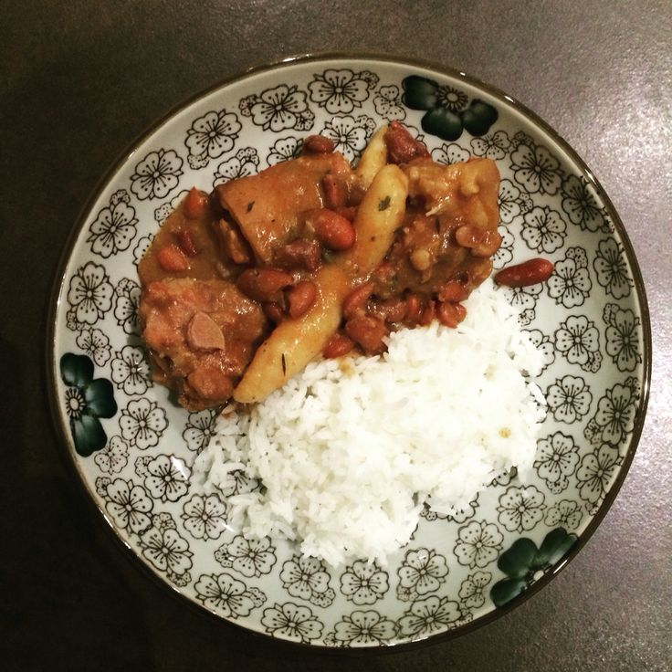 Jamaican Food: Stew Peas & Rice ! Love Of My Life