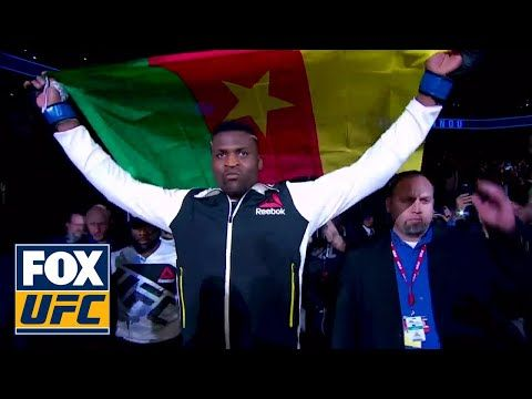 MMA Francis Ngannou has quickly risen to be a heavyweight contender | UFC Tonight