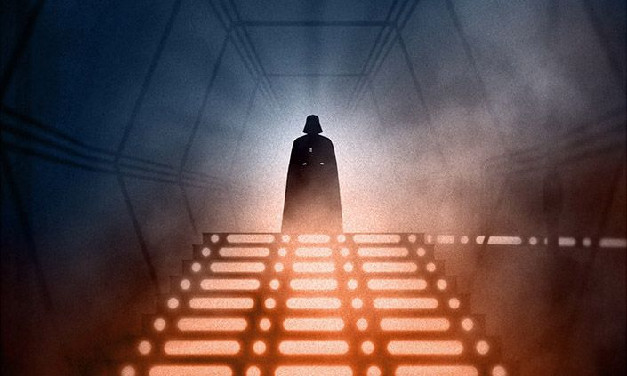 Checkout this awesome #StarWars #PrintSet from #MArkoManev and #BottleneckNYC | http://mprnts.co/mmstarwars