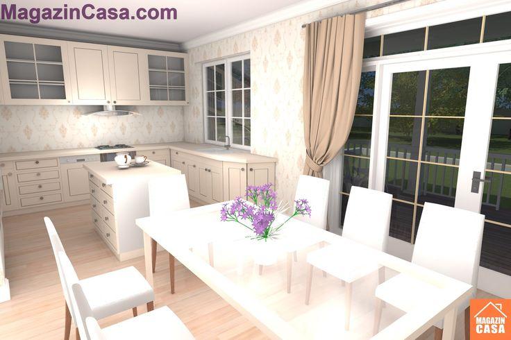 Proiect Amenajare interioara si design interior casa B68