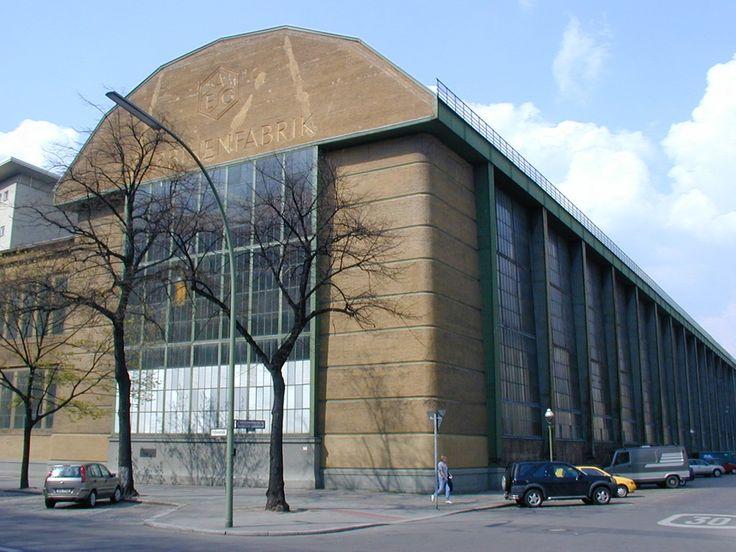 peter-behrens - AEG fabriekshal