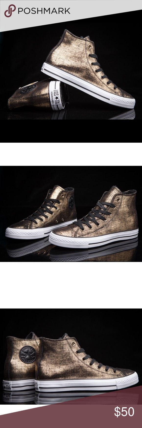💄FLASH SALE 💄 CONVERSE WOMENS GOLDEN ALL STAR Brand new without box Converse Shoes Sneakers