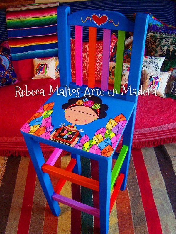 Frida Kahlo   por rebeca maltos