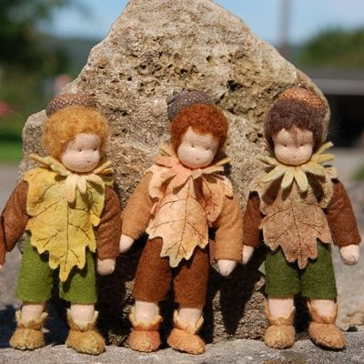 So cute! They are like a handmade version of our toy Cedric doll