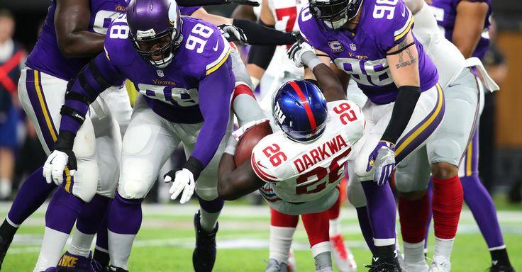 Vikings 24, Giants 10: Odell Beckham Jr.? Steamed. The Giants' Defense? Rolled.