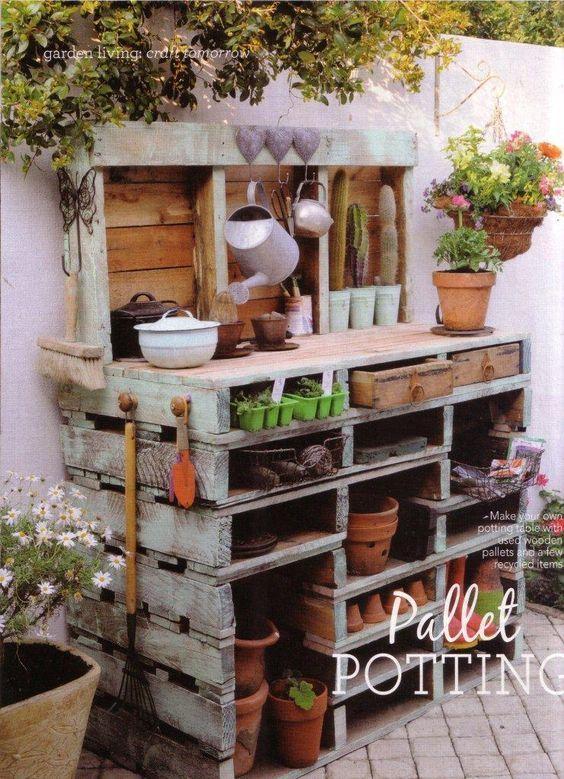 Oltre 25 fantastiche idee su idee per il giardino su for Pallet arredo giardino