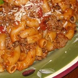 Goulash- wonder if it is as good as my grandmothers! perfect comfort food