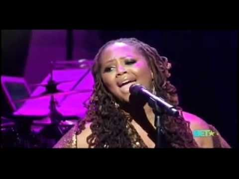 """She is the epitome of a """"Cover Girl"""". She can cover ANY song and make it brand NEW!!!!!! DAYUM!!!!!!▶ Lalah Hathaway's tribute to Anita Baker singing Angel - YouTube"""