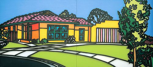 Suburbia by Howard Arkley