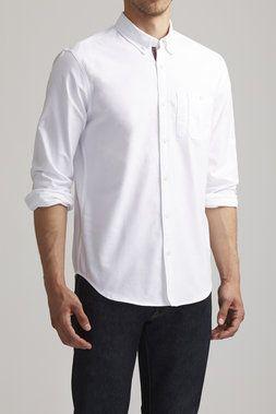 Rutledge White Oxford Shirt - Goodale - Shirts : JackThreads