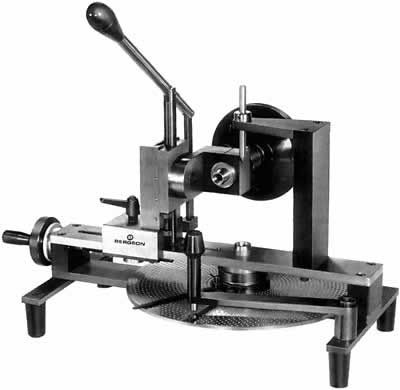 Bergeon-Tecnoli Gear Cutters. Large dividing plate with precision lever.