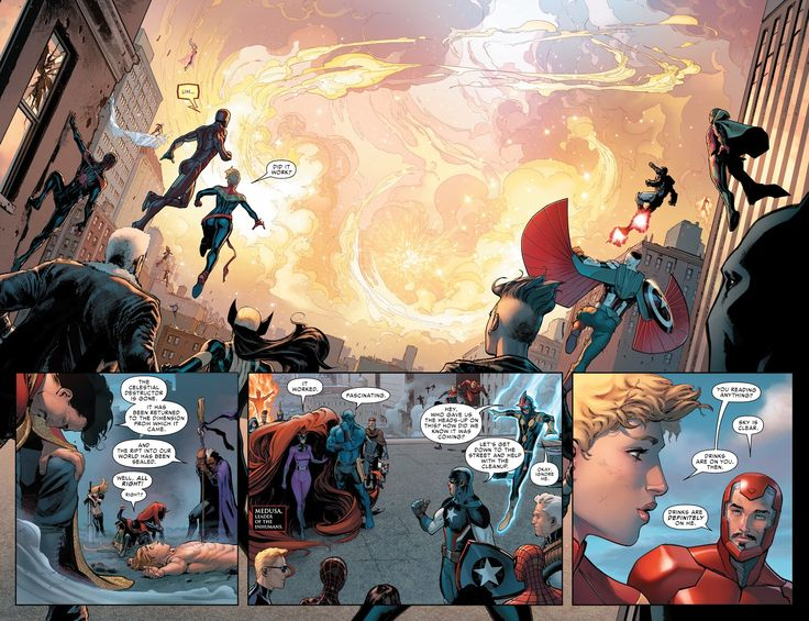 Civil War II Issue #1 - Read Civil War II Issue #1 comic online in high quality